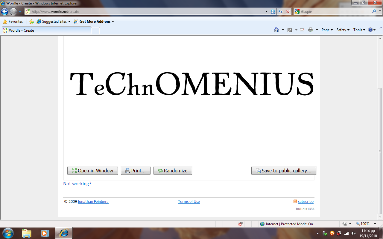 The Logo for the Comenius IT group
