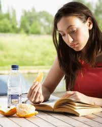 Study and eat properly